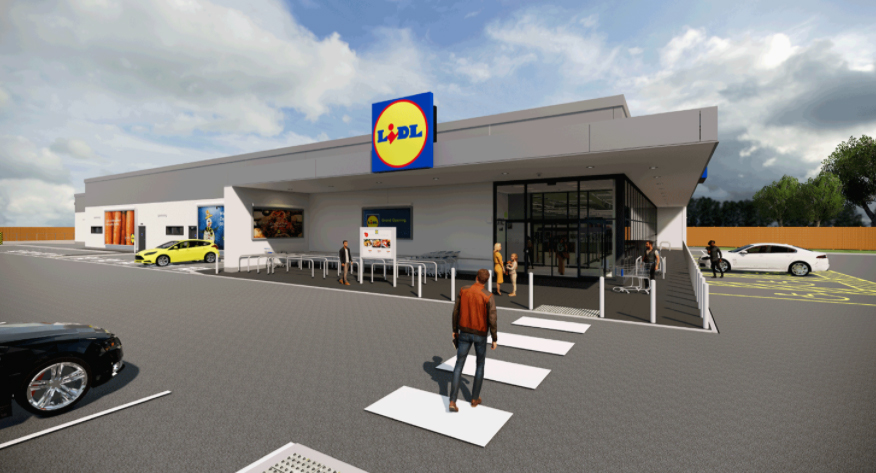 Example of a similar Lidl store